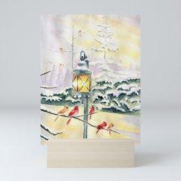 Winter Song 3 Mini Art Print