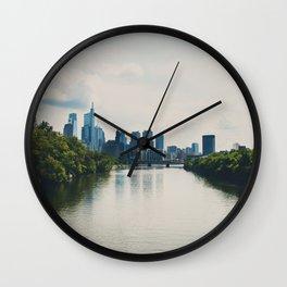 the Schuylikill River ...  Wall Clock