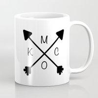 kansas city Mugs featuring Kansas City x KCMO by K Michelle