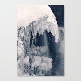 Susquehanna Ice Reaper Canvas Print