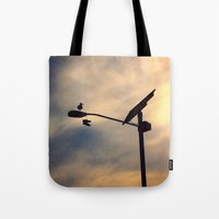 shoe Tote Bags featuring Shoe Bird by Ken Seligson