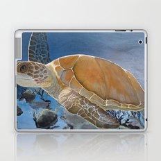 sea turtle by Jes Laptop & iPad Skin
