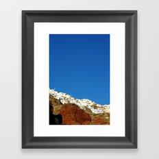 Oia Framed Art Print