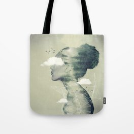 Geo Dress Tote Bag