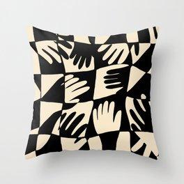Hand Print Throw Pillow