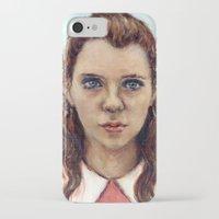 karu kara iPhone & iPod Cases featuring Suzy - Moonrise Kingdom - Kara Hayward by Heather Buchanan