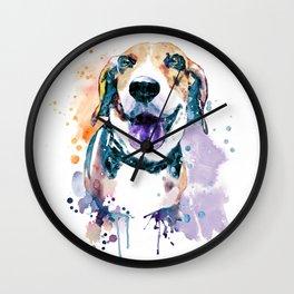 Sweet Beagle Wall Clock