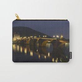 Heidelberg Bridge by night Carry-All Pouch