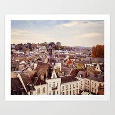 Amboise Art Print