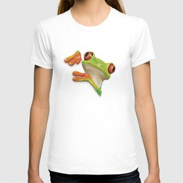 Little Red Eyed Tree Frog T-shirt
