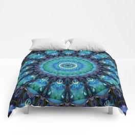Jewel Of The Ocean Mandala Comforters
