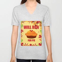 Running T-Shirt Funny Run Tee Gift For Runner Apparel Unisex V-Neck