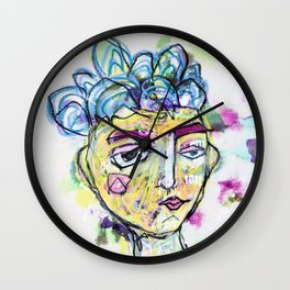 She is imperfect, but she tries Wall Clock