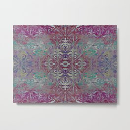 Lilly revolution geometry Metal Print