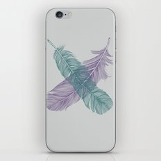 X Feathers iPhone & iPod Skin