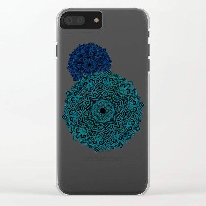 My Spirit Mandhala | Secret Geometry Clear iPhone Case