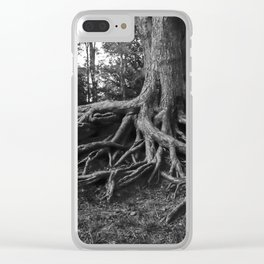 Putting Down Roots Clear iPhone Case