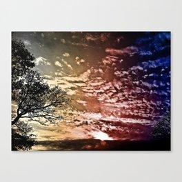SJ Sky 2a - Burn Canvas Print