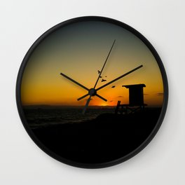 ysunset Wall Clock