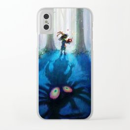 Forest Majora Clear iPhone Case