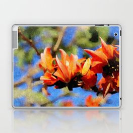 Jungle Flame - Palaash Laptop & iPad Skin