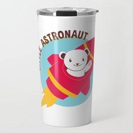 Little Astronaut Baby Polar Bear Rocket Travel Mug
