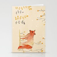 howl Stationery Cards featuring HOWL by MEERA LEE PATEL