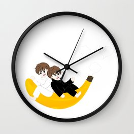 The Twinnie Boy Wall Clock