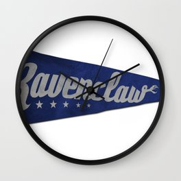 Ravenclaw 1948 Vintage Pennant Wall Clock