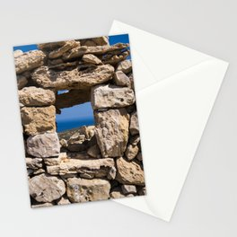 Through the Stone Wall Stationery Cards