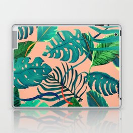 Summer Tropical Leaves Laptop & iPad Skin