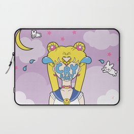 Pretty Guardian Cry Baby Sailor Moon Laptop Sleeve