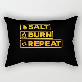 Supernatural - Salt Burn Repeat Rectangular Pillow
