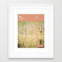 fleet foxes Framed Art Prints featuring The Visual Mixtape 2010 | Fleet Foxes | 05 / 25 by Joy Stain