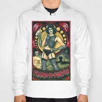 rocky horror picture show Hoodies featuring Frank-N-Furter - Rocky Horror Picture Show by DanaRobinson