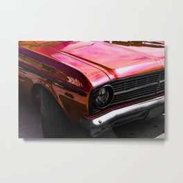 Candied red classic Metal Print