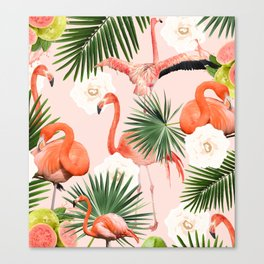 Flamingo Guava #society6 #decor #buyart Canvas Print
