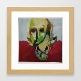 man pig Framed Art Print