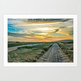 Jericoacoara National Park Dune Road Art Print