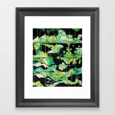 Void Gardens Framed Art Print