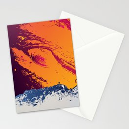 Stand on Europa Stationery Cards