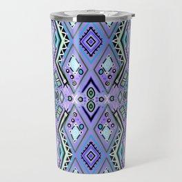 Blue Diamonds Travel Mug