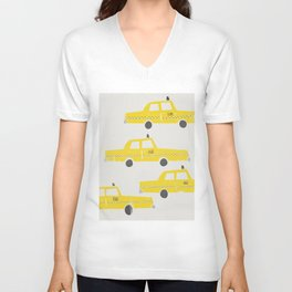 New York Taxicab Unisex V-Neck