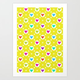 Hearty Art Print