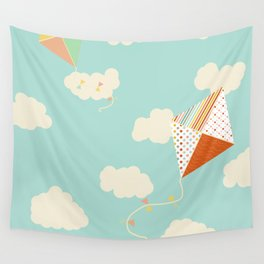 Let's go Fly a Kite Wall Tapestry