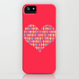 The Heart of the People iPhone Case
