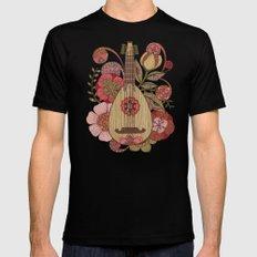 Ever Mandolin  Mens Fitted Tee Black MEDIUM