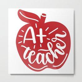 A+teacher Metal Print