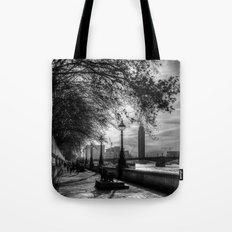 River Thames Path Tote Bag