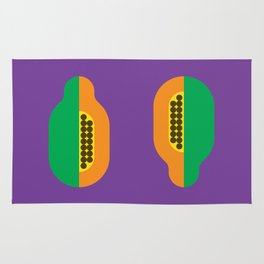 Fruit: Papaya Rug